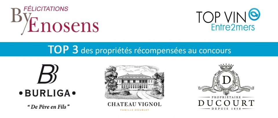 lauréats top vin 2019