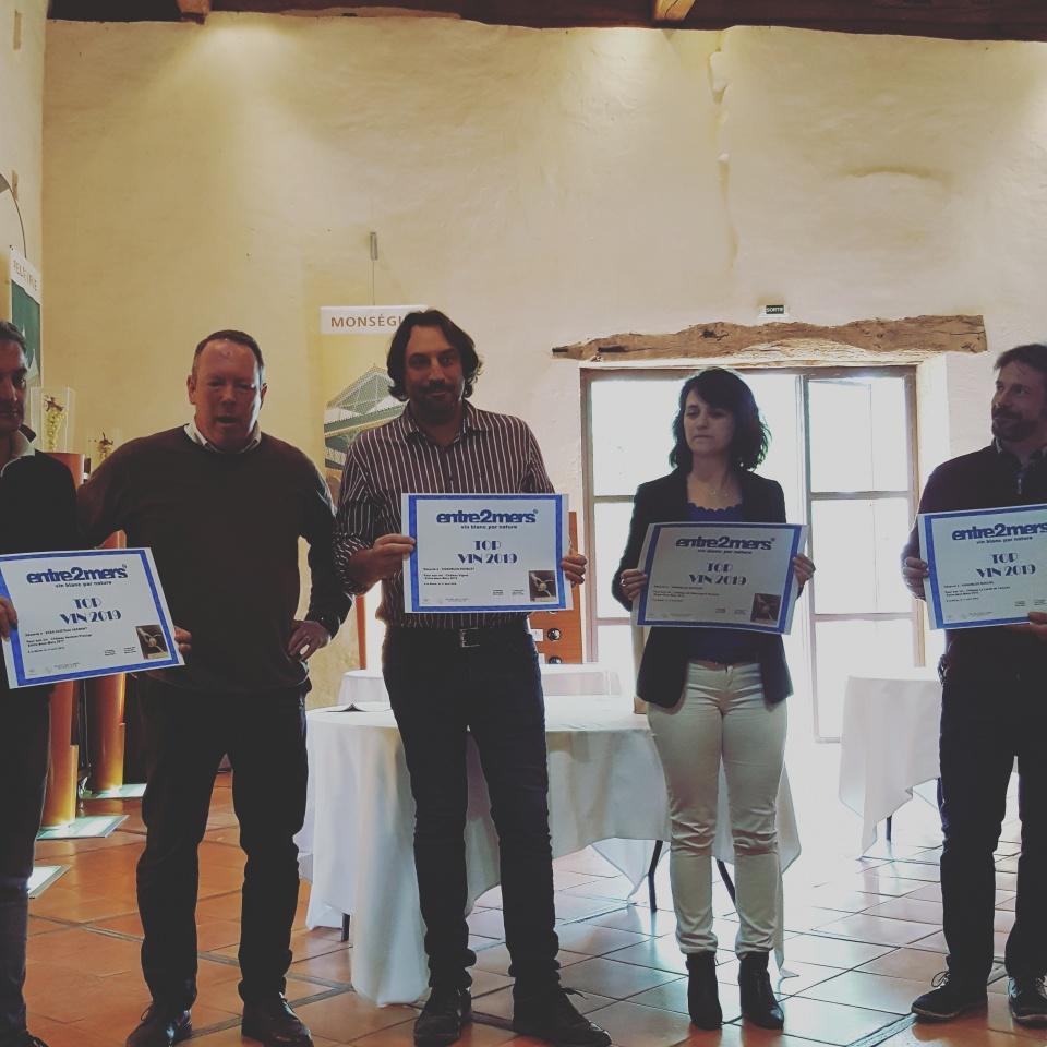 lauréats Top Vin